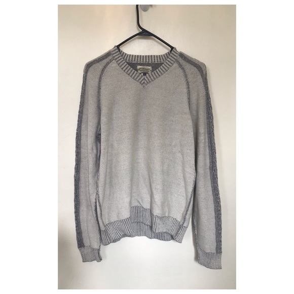 American Rag Other - American Rag Cie Mens Sweater Gray Knit Size L
